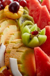 חתיכות של פירות